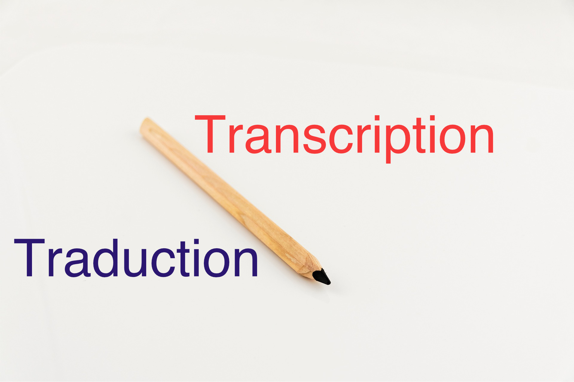 transcription traduction